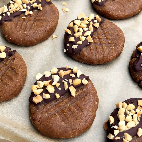 No-Bake Peanut Butter Protein Cookies
