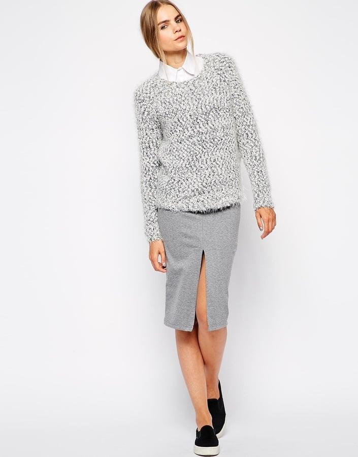 ASOS Slit Pencil Skirt