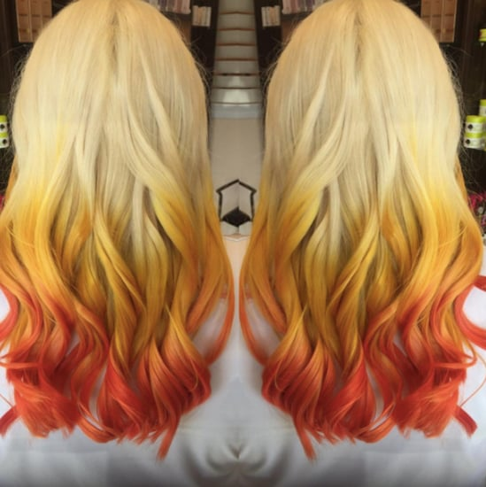 Candy Corn Hair Color Trend