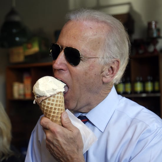 Joe Biden Eating Ice Cream