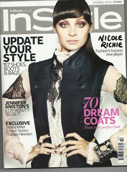 Nicole Richie covers Instyle UK-october 2010