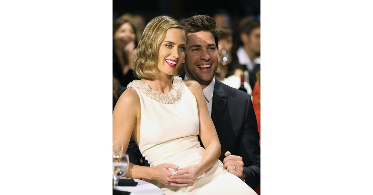 Aww! Emily Blunt had the best seat in the house in 2013 — on