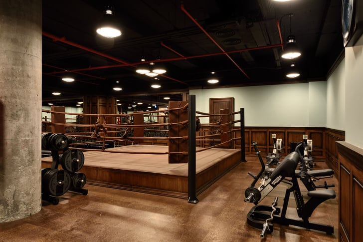 The gym has a boxing ring soho house istanbul review