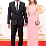 Bobby Cannavale looked handsome alongside a stunning Rose Byrne on the Emmys red carpet.