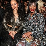 Pictured: Rihanna and Melissa Forde