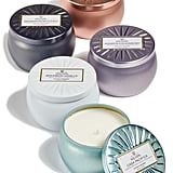 Voluspa Vermeil Mini Tin Candle Set