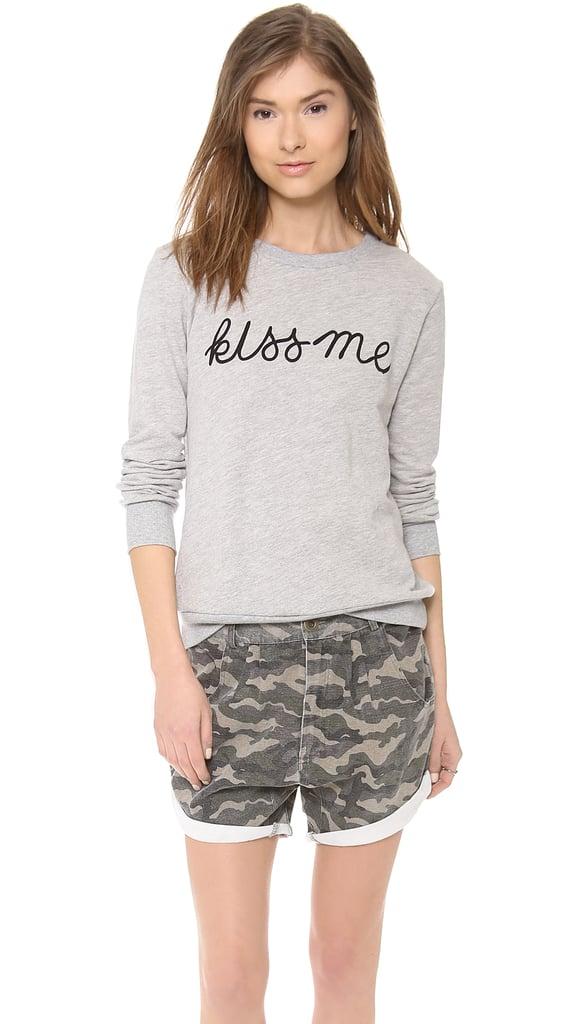 A Fine Line Kiss Me Forever Sweatshirt ($128)