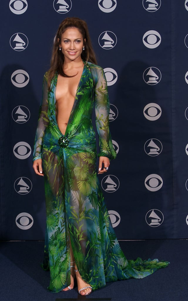 Jennifer's Iconic Versace Dress at the 2000 Grammy Awards