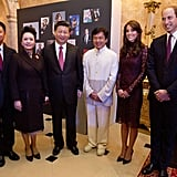 Kate Middleton Prince William Meet With Chinese President