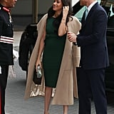 Meghan Markle Rewears Her Green Engagement Dress