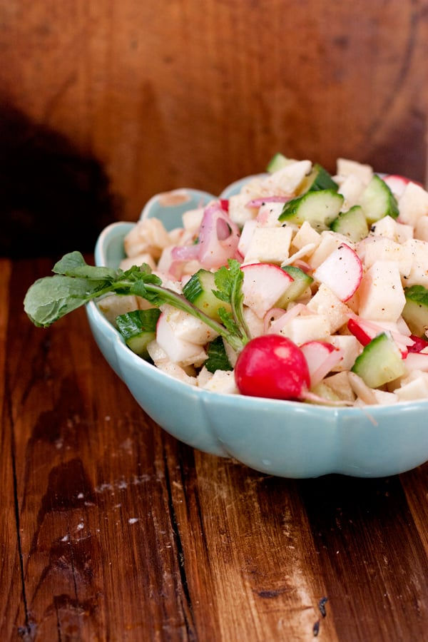 Jícama, Radish, and Cucumber Salad