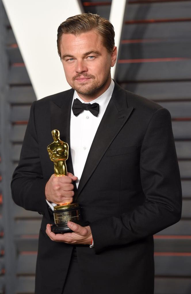 Leonardo DiCaprio at the Oscars 2016