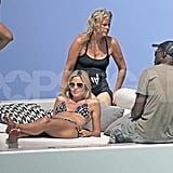 Heidi Klum Shows Off Amazing Bikini Body and Kisses With Seal in Ibiza