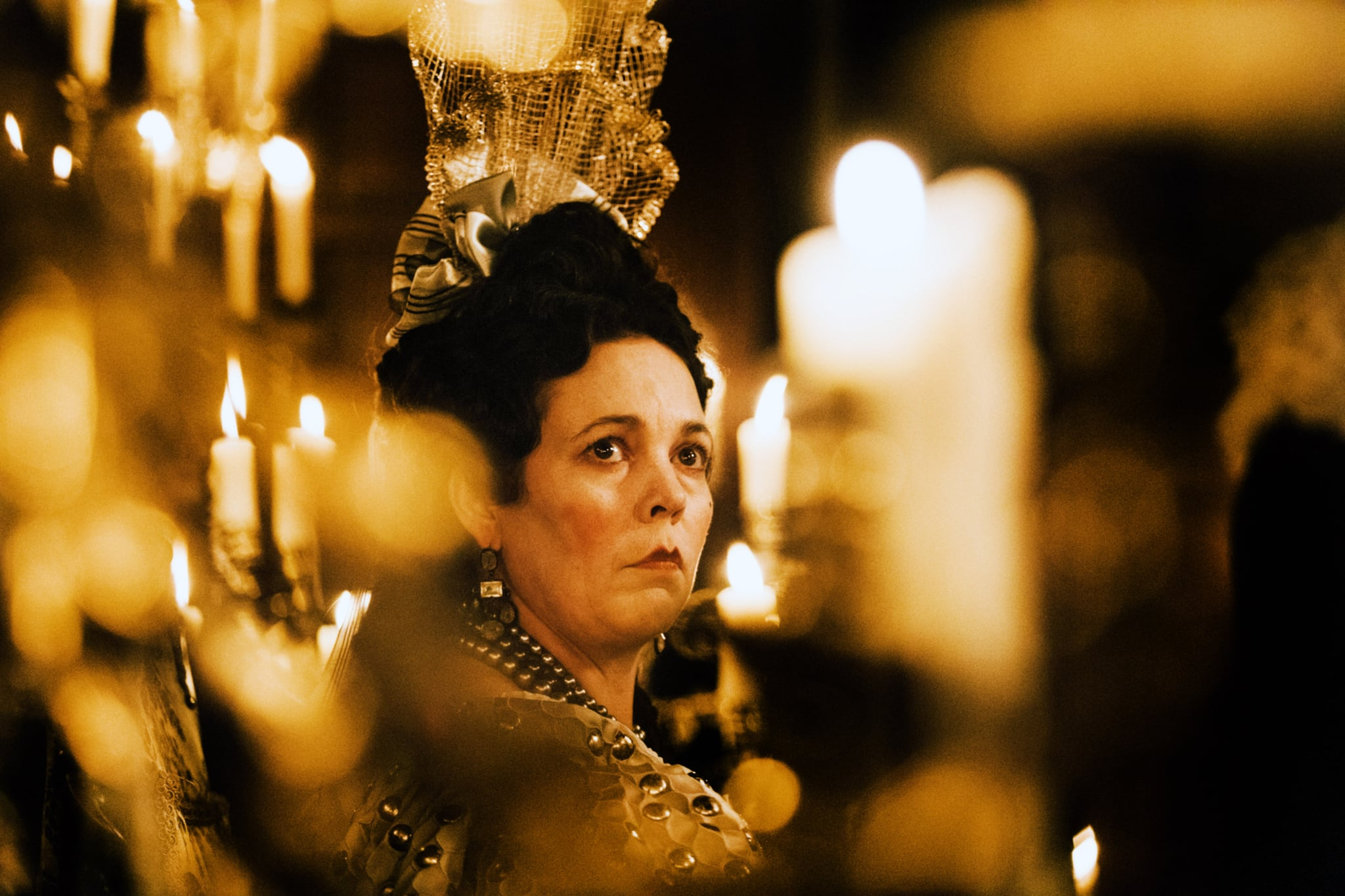 THE FAVOURITE, Olivia Colman, 2018. ph: Atsushi Nishijima / TM & copyright  Fox Searchlight Pictures. All rights reserved. / courtesy Everett Collection