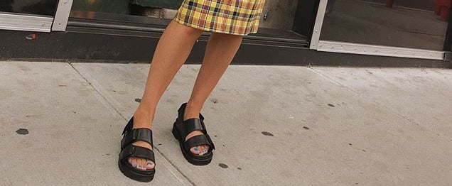 How to Wear Chunky Sandals