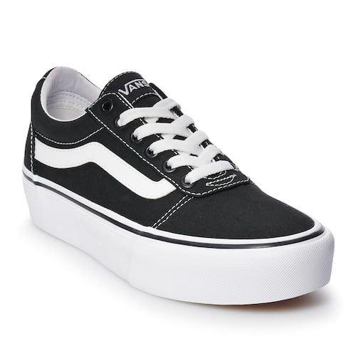 Vans Ward Platform Skate Shoes | Cute