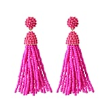 NLCAC Beaded Tassel Earrings
