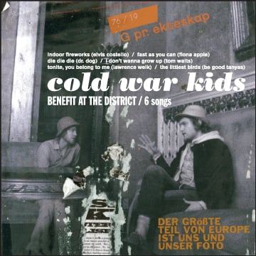 Free Downloads! Six Covers by the Cold War Kids