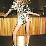 Edita Vilkeviciute for Blumarine, by Terry Richardson