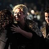 Alessia Cara, Kelly Clarkson, and Nick Jonas