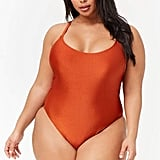 Forever 21 Crisscross One-Piece Swimsuit