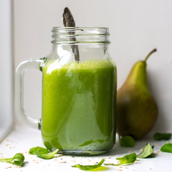 Warm Pear and Spinach Smoothie Recipe