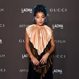 Amandla Stenberg Said Goodbye to Their Blue Box Braids and Opted For Some Honey Blond Curls