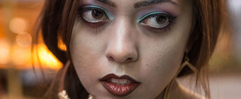 Zombie Princess Jasmine Halloween Makeup