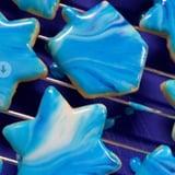 Jake Cohen's Tie-Dye Hanukkah Cookies Recipe | TikTok Video