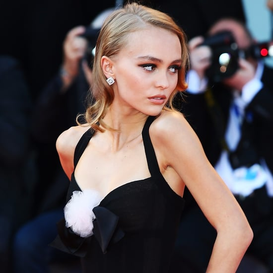 Lily-Rose Depp at Venice Film Festival 2016
