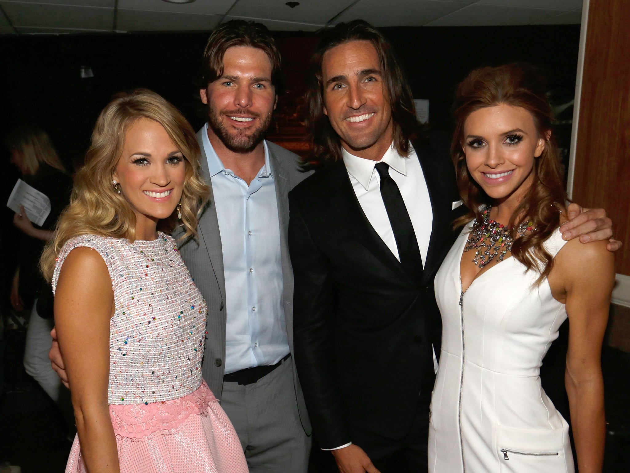 Carrie underwood and her husband mike fisher joined jake for Carrie underwood husband mike fisher