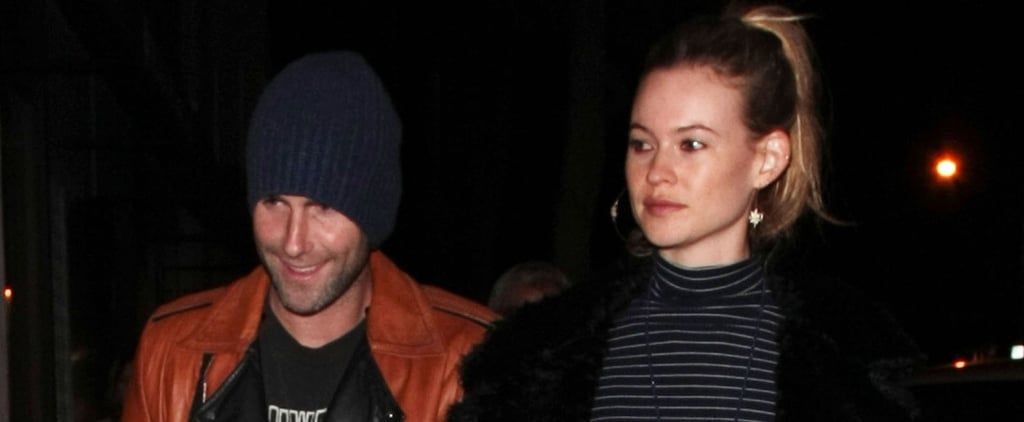 Adam Levine's Chivalry Puts the Cutest Smile on Behati Prinsloo's Face