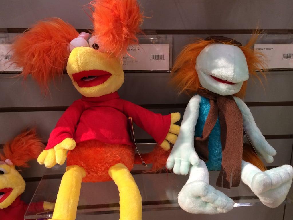 Manhattan Toys Fraggle Rock Stuffed Animals