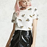 Forever 21 Banana Graphic Tee