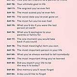 Journaling Challenge