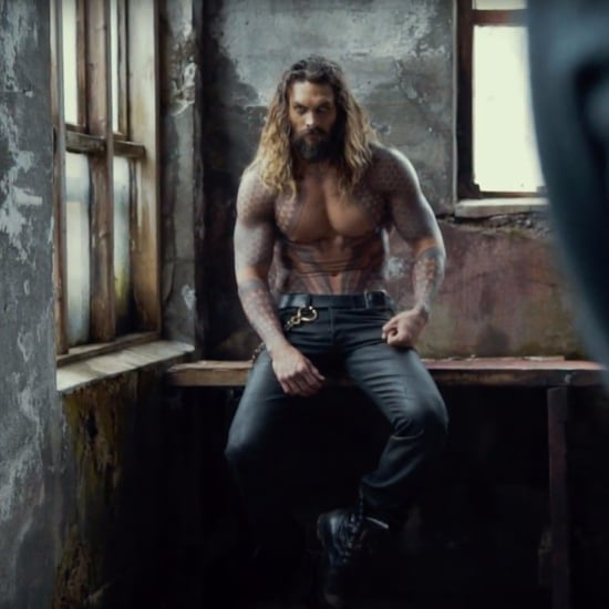 Jason Momoa as Aquaman in His Short Film