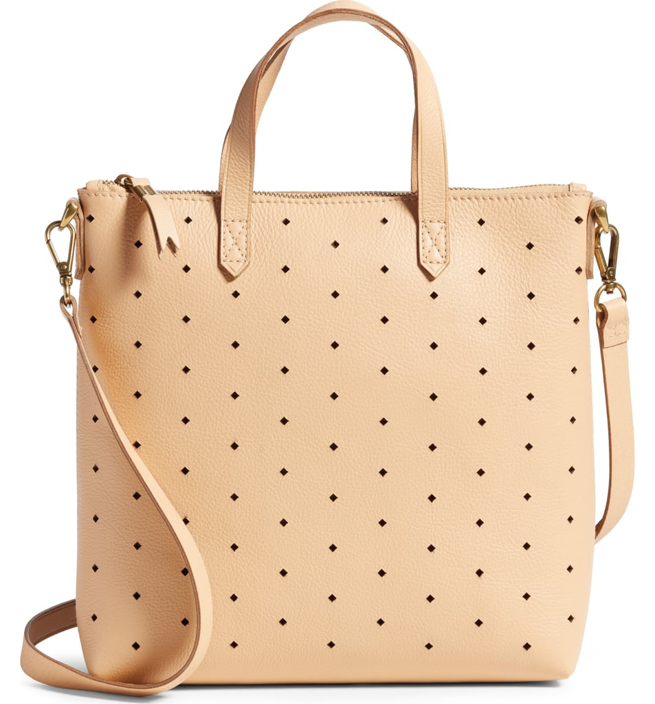 Madewell Mini Transport Perforated Leather Crossbody Bag   Nordstrom ... fdc2b969a3