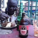 While in Benin, a French-speaking country on Africa's west coast, Garfors tried several types of Obama beer — none of which he liked — and sampled some delicious street food.