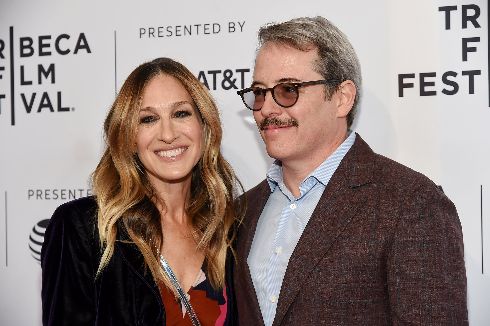 NEW YORK, NY - APRIL 22:  Sarah Jessica Parker and Matthew Broderick attend a screening of