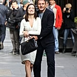 Olivia Wilde and Liam Neeson filmed The Third Person in Rome.
