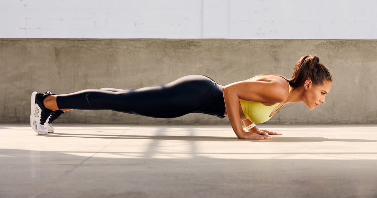 Strengthen Your Shoulders, Arms, and Abs With This 20-Minute, Equipment-Free Workout