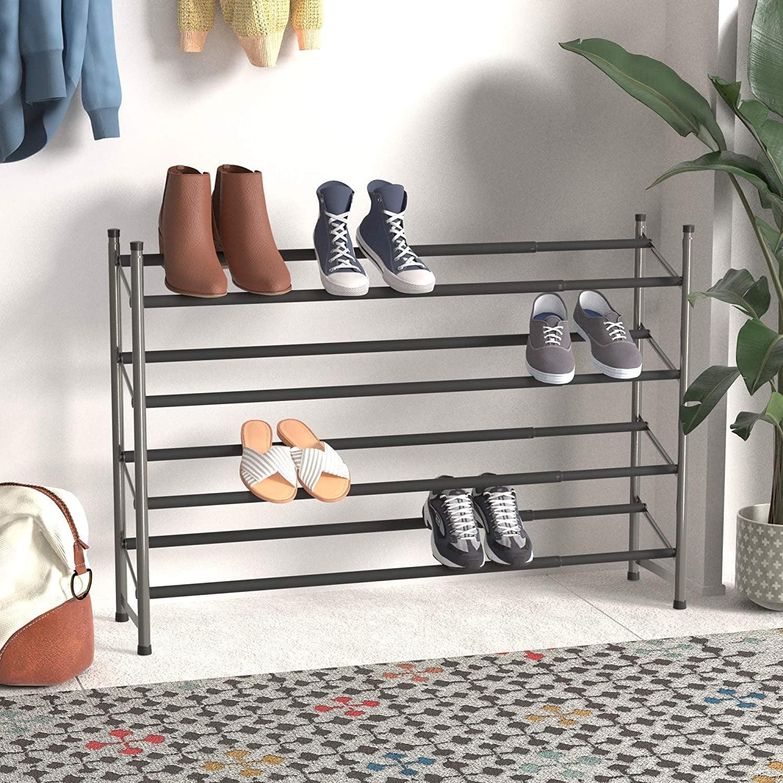 AmazonBasics Easy Assemble Shoe Rack