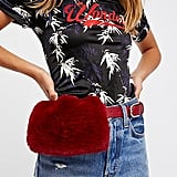 Free People Faux Fur Pocket Belt (£48)