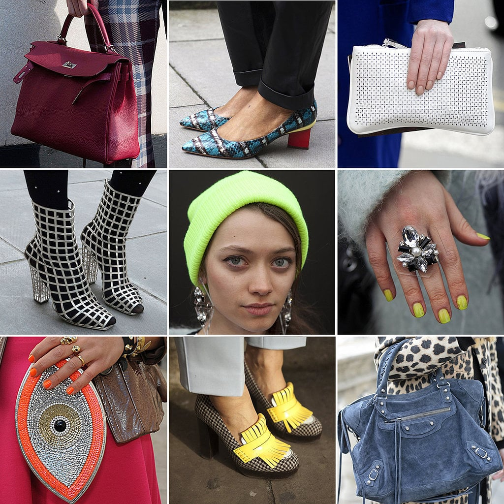 Here is every gorgeous detail from London's street-style stars.