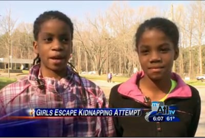Four Girls Escape Abduction By Fighting Back