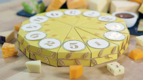 Diy cheese filled advent calendar popsugar food solutioingenieria Image collections