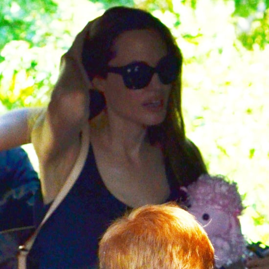 Angelina Jolie and Kids in London Pictures