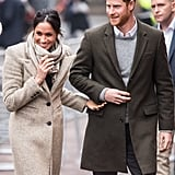 January: He and Meghan Made Their First Public Appearance of the Year