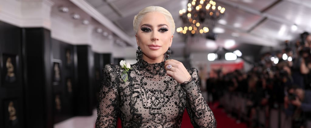 Lady Gaga Stripped Down Into a Super Sheer Bodysuit — and It'll Make You Blush