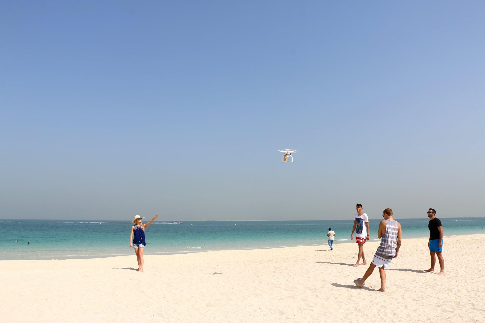 Video Costa Coffee Dubai Delivers By Drone Popsugar